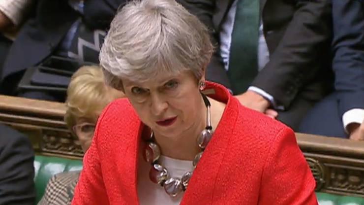 Trotz Last-Minute-Zugeständnissen votieren die Abgeordneten in London erneut gegen das Brexit-Abkommen von Premierministerin Theresa May.
