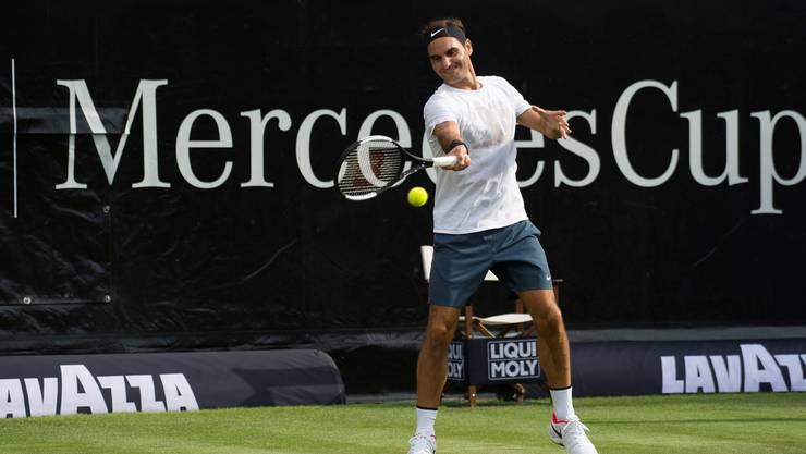 Am Mittwoch, 13. Juni, kehrt Roger Federer in Stuttgart aus seiner Wettkampfpause zurück.