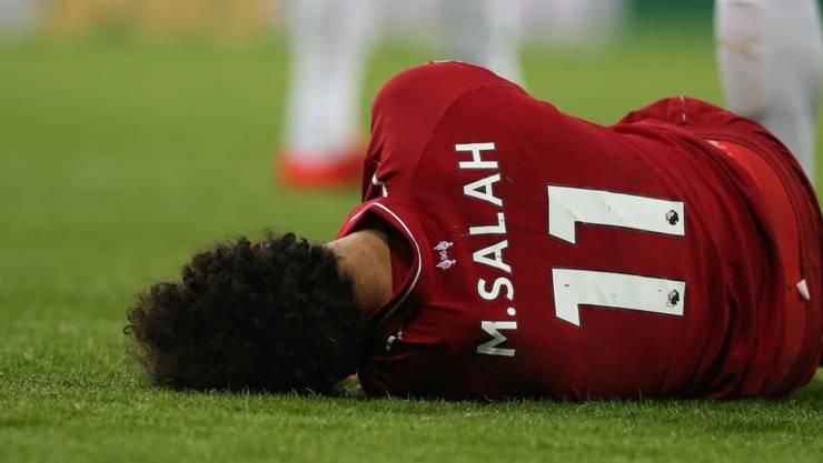 Liverpools Mo Salah erlitt gegen Newcastle United eine Hirnerschütterung