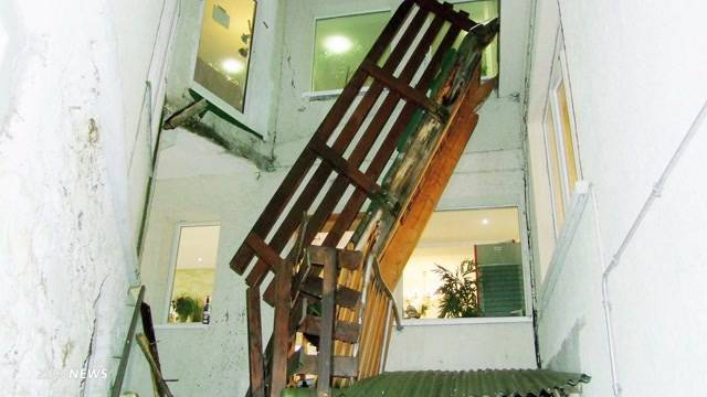 Hoteleinsturz in Arosa fordert fünf Verletzte