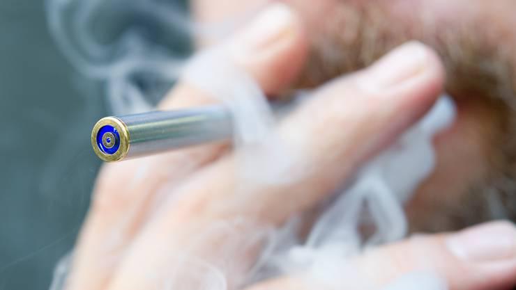 Zumindest die E-Zigaretten stellt die Solothurner Suchthilfe Ost kostenlos zur Verfügung.
