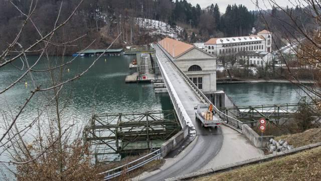 Das Wasserkraftwerk Mühleberg (Archiv)