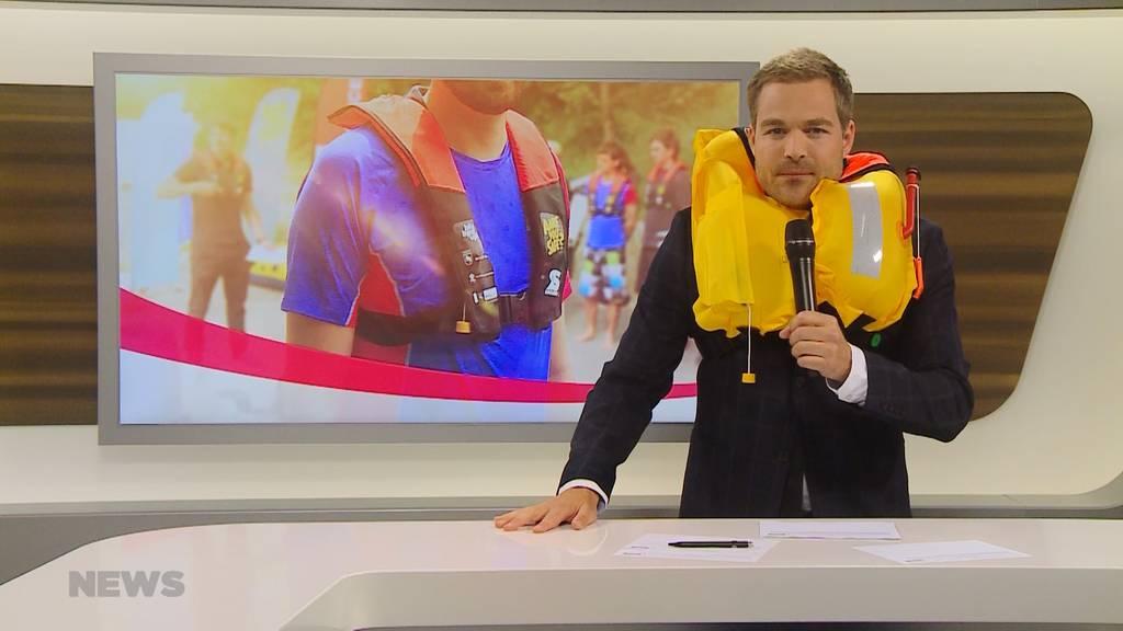 """Aare You Safe"": Neuer Lebensretter für Aareböötler"