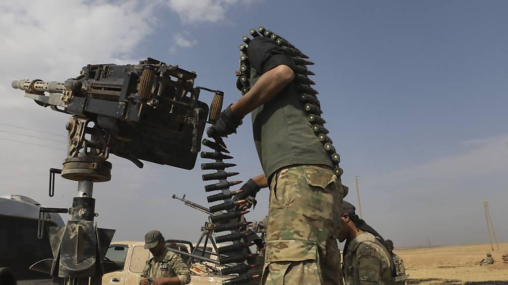 Türkische Luftangriffe trotz Waffenruhe in Nordsyrien