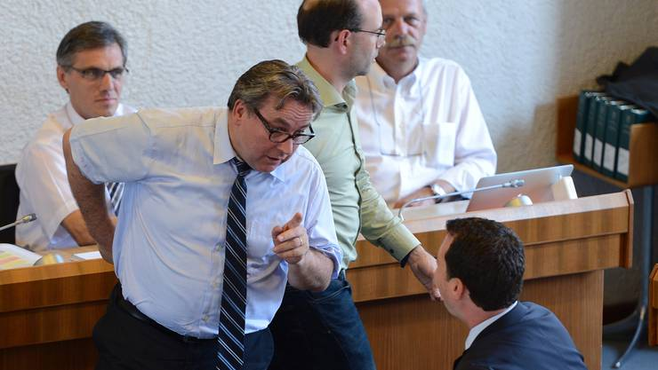 Urs Wüthrich warf den Bürgerlichen am Donnerstag im Landratssaal Verhinderungspolitik vor. Juri Junkov