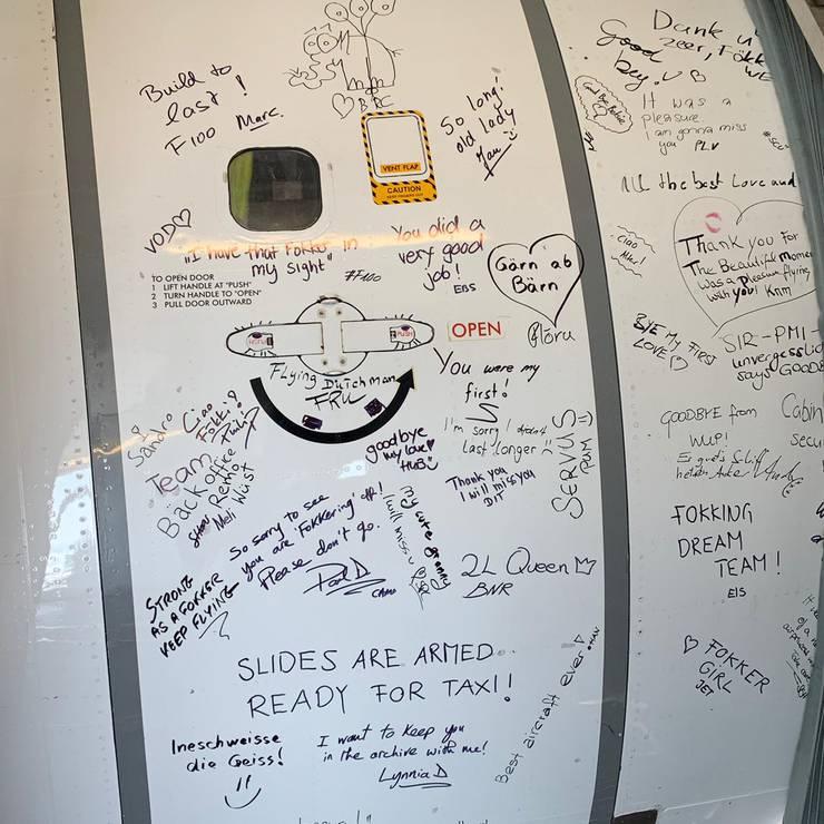 Die Mitarbeiter haben viele Erinnerungen an diese Maschine. «Für viele Piloten und Flight Attendants war es das erste Flugzeug, auf dem sie arbeiteten», erklärt Tobias Pogorevc