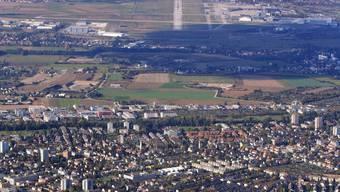 Die Südanflüge am Euro-Airport erfolgen über Wohnquartiere in der Agglo.