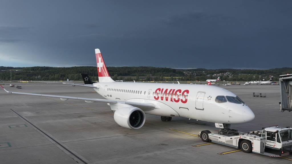 Flugticketabgabe im Aargau