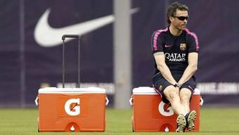 Nach einem schwierigen Start ist Luis Enrique mit Barcelona auf Erfolgskurs.