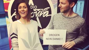 Dara Masi ist Co-Moderatorin der Morgenshow von Radio Argovia.