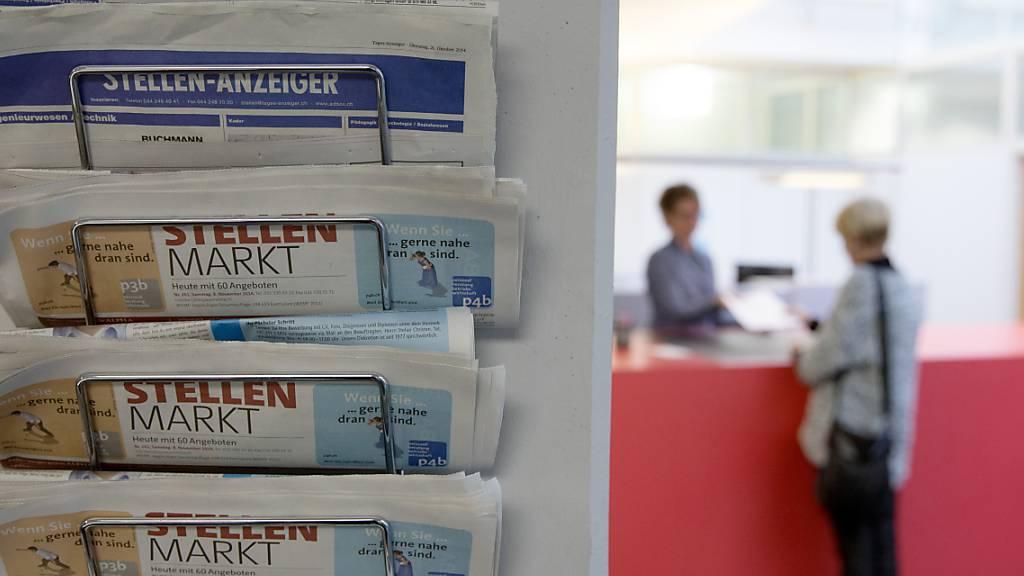 9'451 Arbeitslose im Oktober in der Zentralschweiz