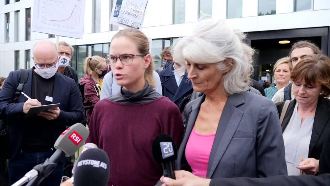 Kantonsgericht verurteilt Klimaaktivisten in der Waadt