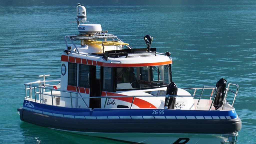 Auf dem Zugersee ist neu Polizeiboot «Eiola» im Einsatz
