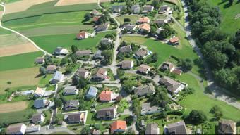 Blick auf die Gemeinde Günsberg