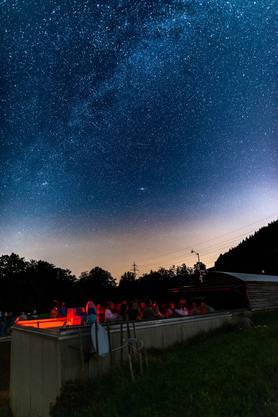 Drei besonders schöne Bilder erreichen uns von Leander Neumann. Aufgenommen in der Sternwarte Schafmatt.