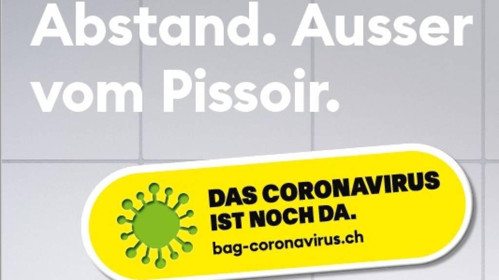 BAG startet neue Corona-Plakatkampagne