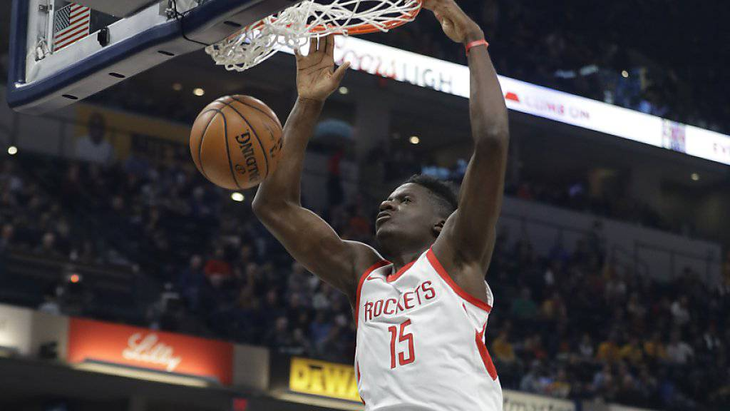 Clint Capela gelang ein weiteres Double-Double