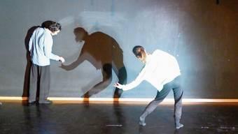 «Perceptions» ist ein intimes Tanzstück, das im Kurtheater Baden in den letzten Wochen erarbeitet worden ist.