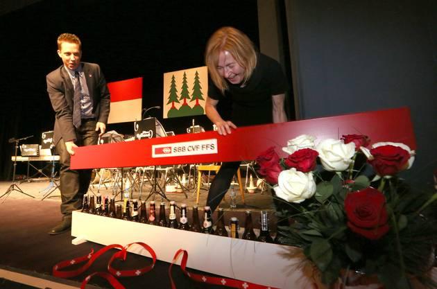 Vom Vorgänger Christian Imark gabs eine «Solothurner Bierbox» (SBB).