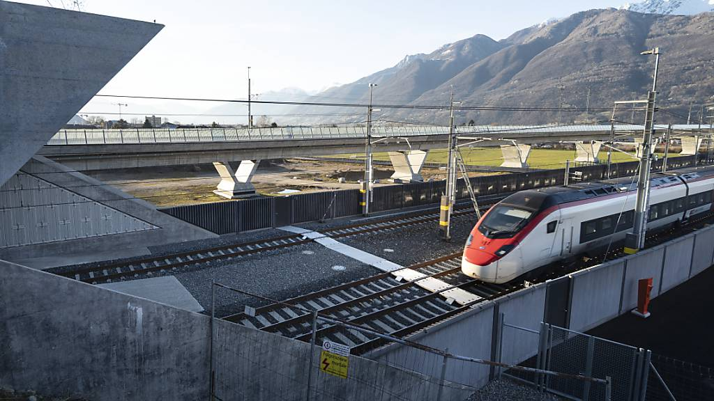 Gotthard-Basistunnel zahlt sich für Bellinzona und Altdorf aus