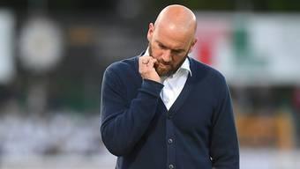 Enttäuschter Vaduz-Trainer Roland Vrabec: Sein Team steigt fast sicher ab