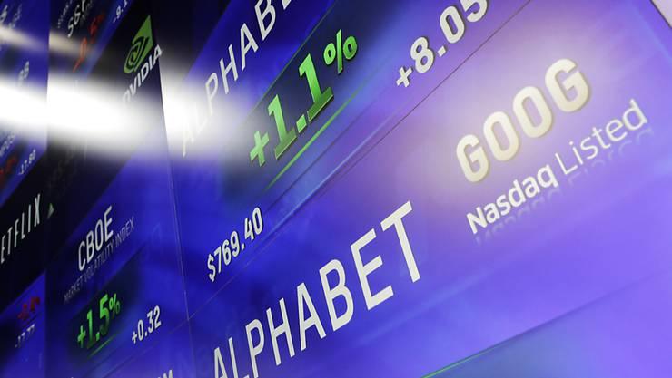 Alphabet-Aktien gaben nach den jüngsten Quartalsergebnissen leicht nach. Anleger hatten einen höheren Gewinn erwartet.