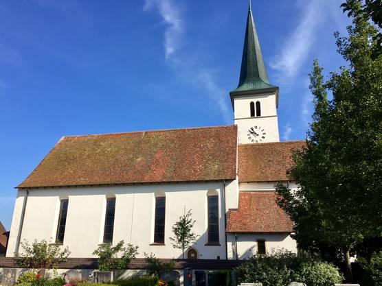 Die Aussenrenovation der St. Stephanskirche ist bereits seit einem Jahr abgeschlossen. In diesem Frühling haben die Innenarbeiten begonnen.