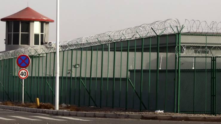 Ein Internierungslager für Uiguren in Xinjiang.
