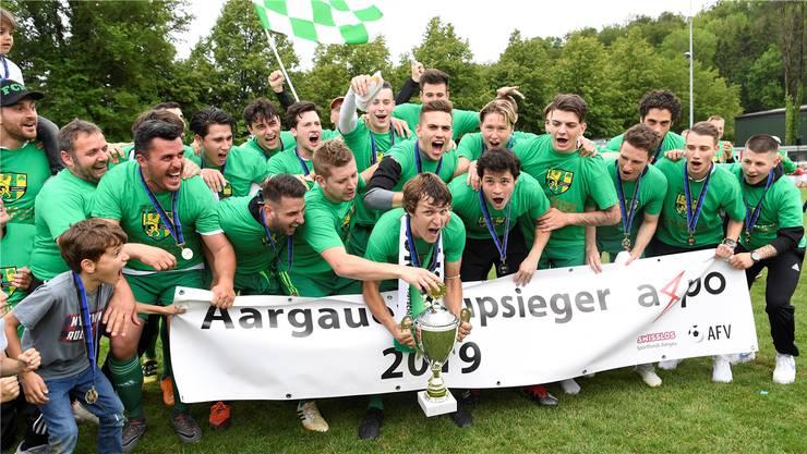 Gesucht wird: Der Nachfolger des Aargauer Cupsiegers 2019 FC Mutschellen, der im Final Othmarsingen 2:1 besiegte.