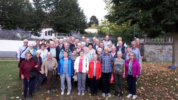 Herbstreise vom 26. September 2019, Seniorinnen und Senioren Matzendorf