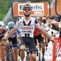 Der Berner Marc Hirschi (vorne) lässt der Konkurrenz im Schlussspurt keine Chance.