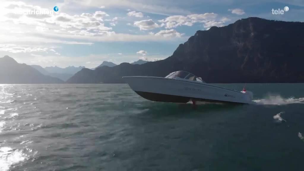 Neues E-Tragflügelboot auf dem Vierwaldstättersee