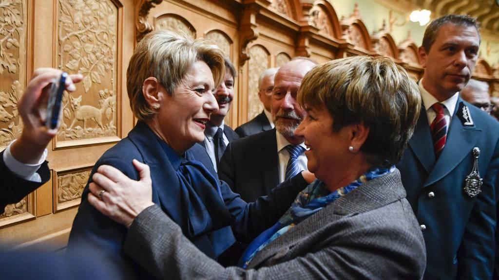 Karin Keller-Sutter ist neue Bundesrätin