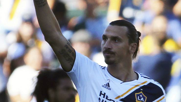 Zlatan Ibrahimovic bleibt bei LA Galaxy