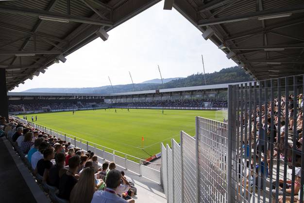 Der neue Austragungsort des Uhrencups - die Tissot Arena in Biel