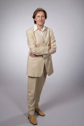 Ursula Widmer vor 13 Jahren.