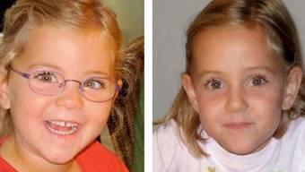 In Italien wird am Sonntagnachmittag eine Messe gehalten für die verschwundenen Zwillinge Alessia und Livia (Bild: Polizei Waadt)