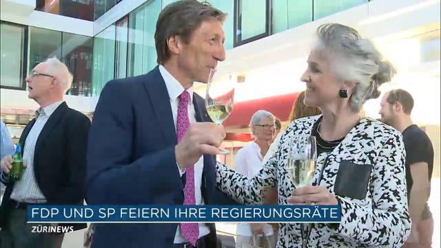 FDP und SP feiern ihre Regierungsräte