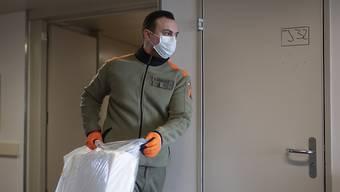 Seit Ausbruch der Corona-Pandemie haben Zürcher Zivilschützer fast 32'000 Diensttage geleistet. (Symbolbild)