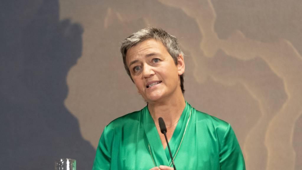 Die Liberale Margrethe Vestager, die sich wie Timmermans bei der Europawahl selbst um die Spitze der EU-Kommission beworben hatte, ist künftig für Digitales verantwortlich. (Archivbild)