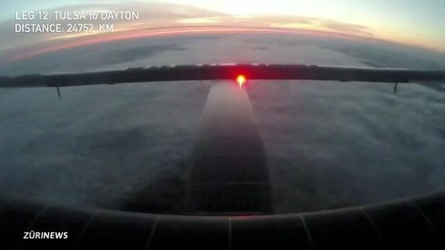 Solar Impulse im Jumbo gelandet