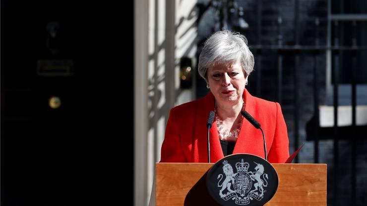 Die scheidende Premierministerin Theresa May.