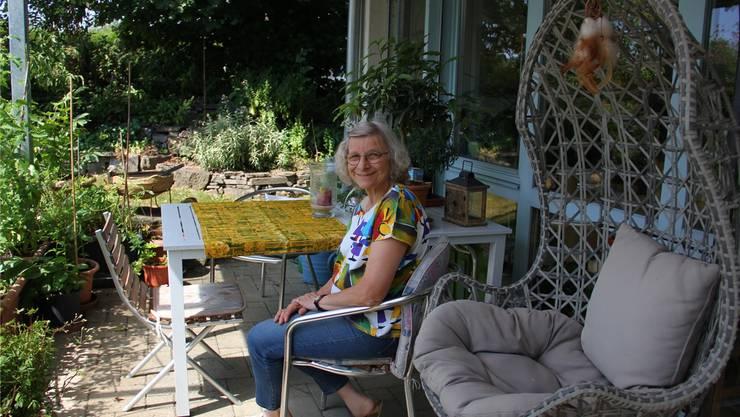 Elisabeth Blersch freut sich auf Gäste in ihrem «Jurablick».