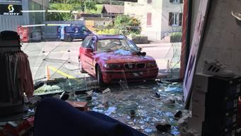 Selbstunfall in Liestal (9. August 2019)