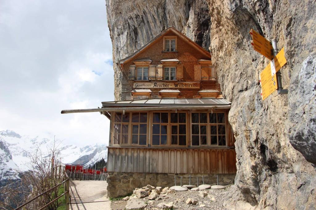 Das Berggasthaus Äscher ist wieder offen. (© Marc Sieger/FM1Today)