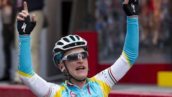 Der Neo-Schweizer Enrico Gasparotto gewann als Fahrer des Team Astana unter anderem das Amstel Gold Race