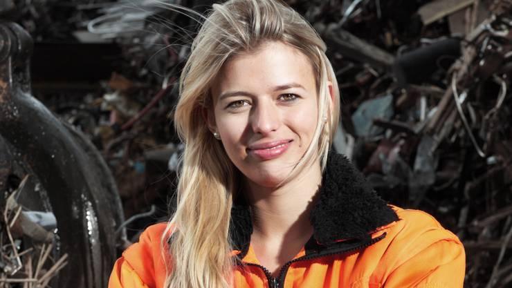 Recycling-Unternehmerin Karin Bertschi.