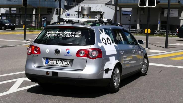 So sieht das selbstfahrende Auto von Swisscom aus 2