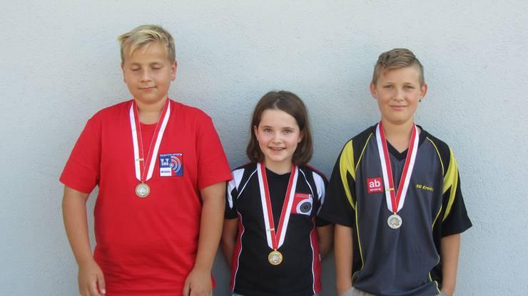 In der Jugend Kategorie 1 siegte Gina Gyger vor Michael Grolimund und Luca Eberhard.