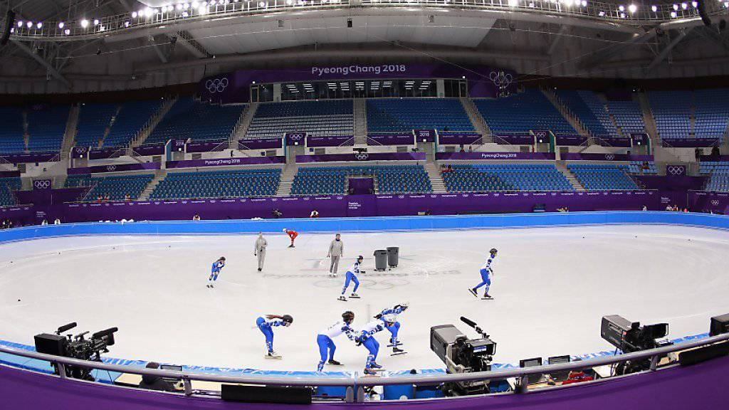 Am Freitag werden in Südkorea die 23. Olympischen Winterspiele eröffnet